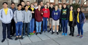 students at UNL Math Day competition