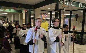 catholic school eucharistic procession 2018