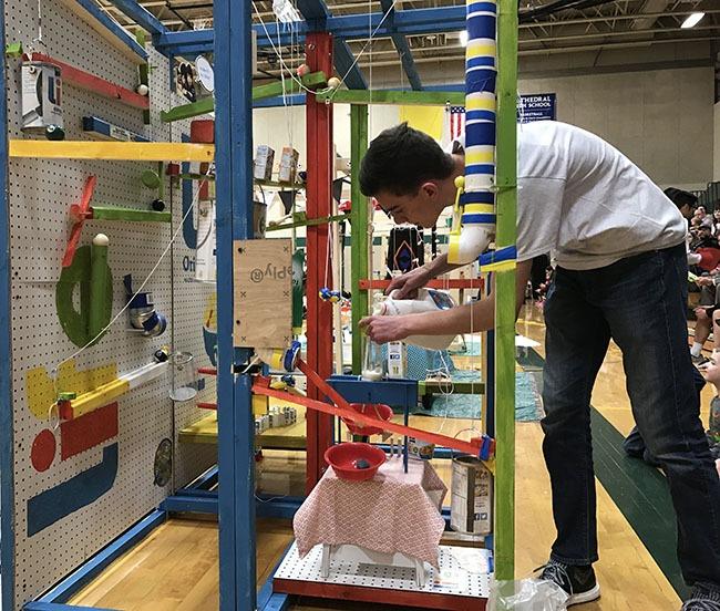 machine contest rube goldberg