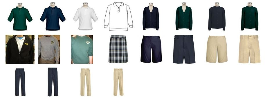 Pius X Uniforms
