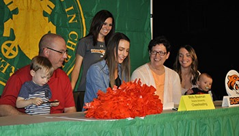 molly boatman doane university cheerleading