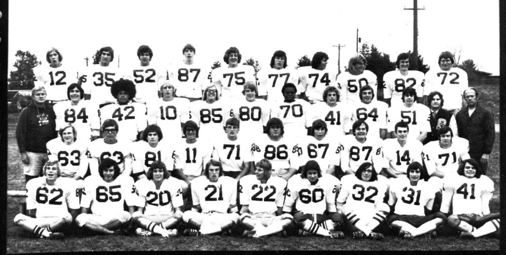 1973 Football Team pius x athletics hall of fame