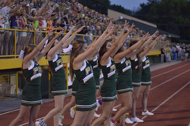 pius x cheerleading