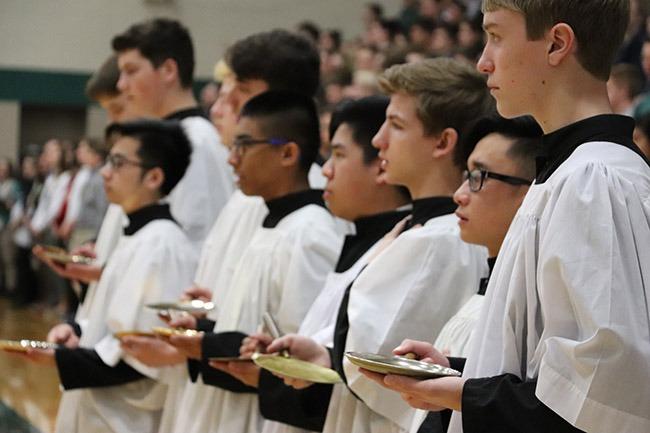 all school easter mass 2018