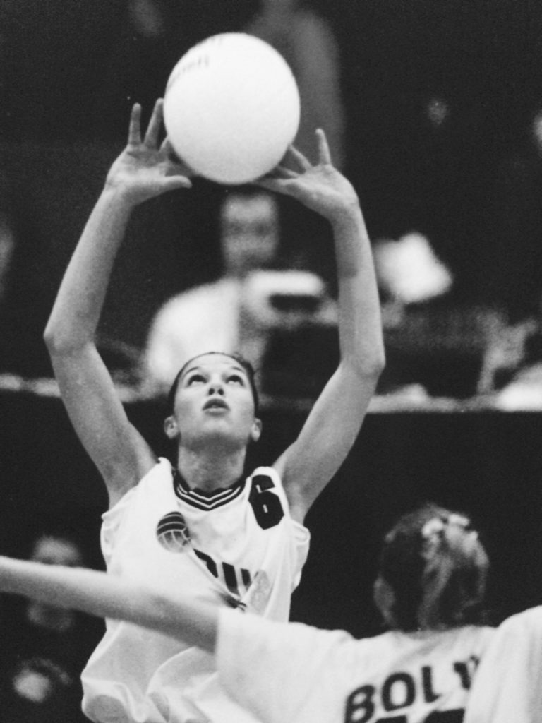 Nikki (Colson) Harrington - Volleyball, Basketball pius x hall of fame