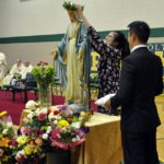 may crowning and procession pius x catholic high school