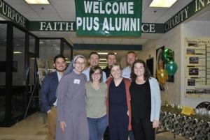 pius x high school alumni reunion bash