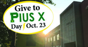 give to pius x day