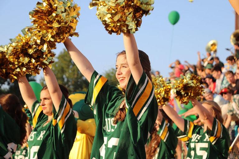 cheer homecoming