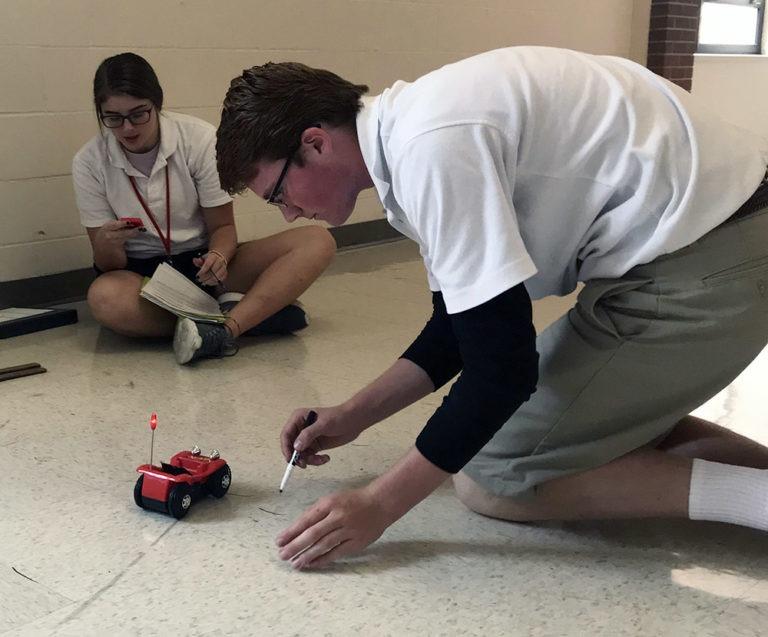toy car physics lab