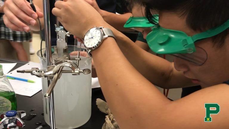 electrolysis lab