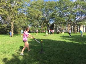 softball at villa marie