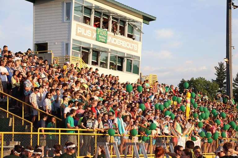 student section homecoming
