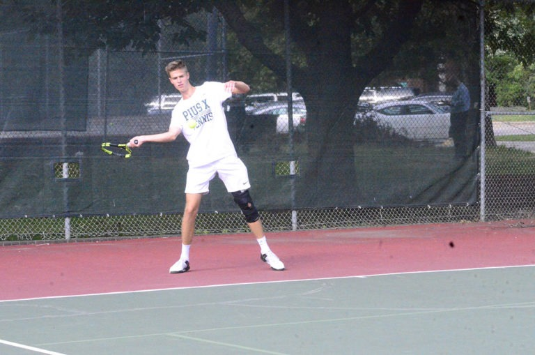 pius x thunderbolt boys tennis