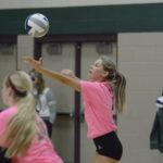 husker pius x thunderbolt volleyball