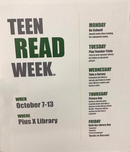 teen read week poster