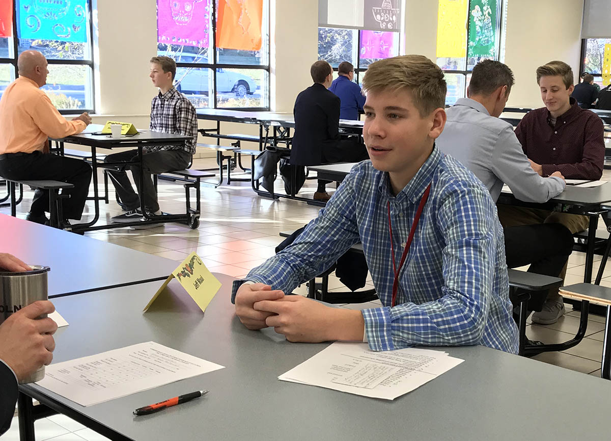 Mock interviews allow students to practice key skills