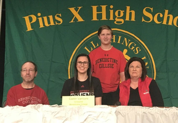 caitlin vancura benedictine college volleyball
