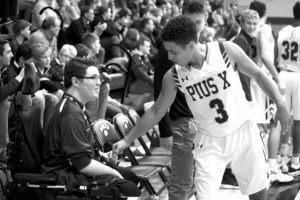 hayden higgins basketball student manager