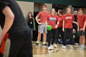 dodgeball pep rally