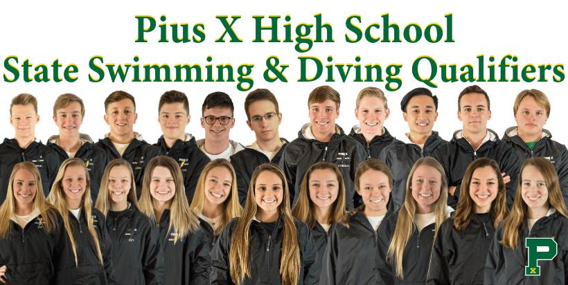 Pius X swimming state
