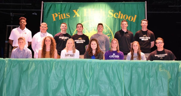 student athlete signing day 2019