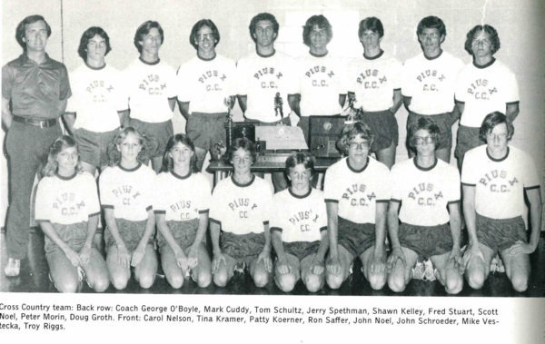 1978 Cross Country team