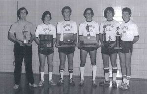 1978 Cross Country team members