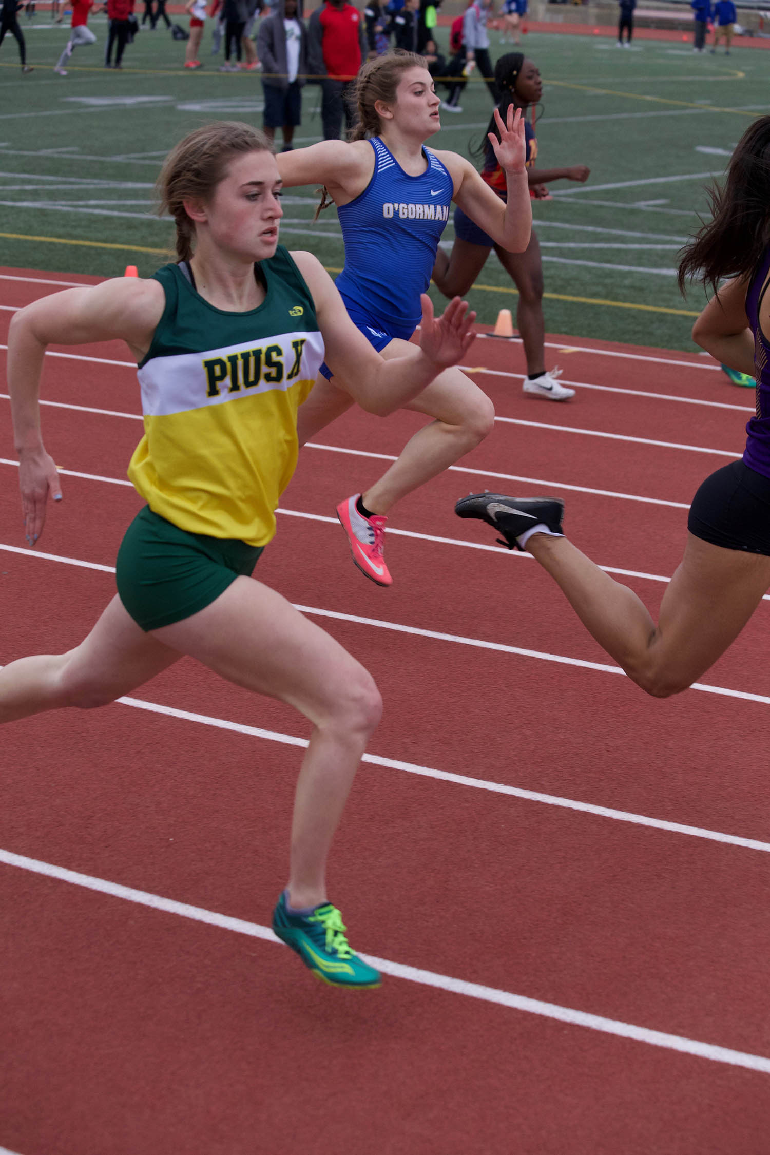 Track and Field at Lincoln Pius X Catholic High School