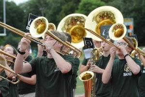 marching band fall kickoff
