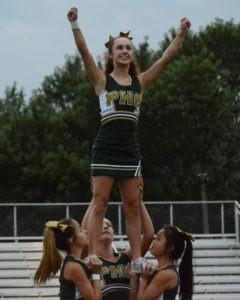 cheer fall kickoff