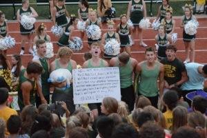 student section fall kickoff