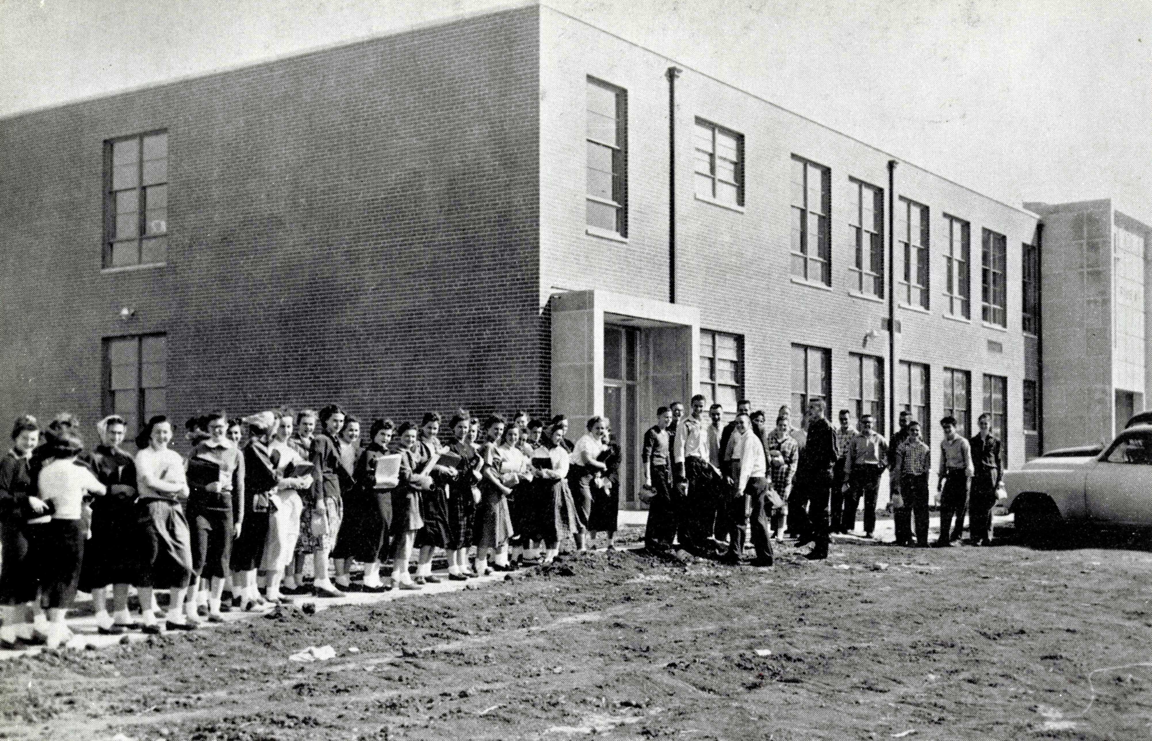 campus 1956 first day alumni