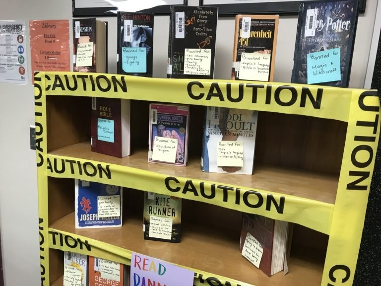 library banned books