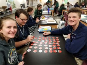 Memory game psychology class