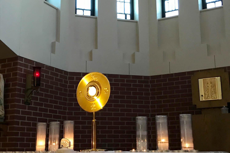 catholic schools week adoration