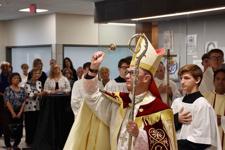 catholic schools week bishop blessing