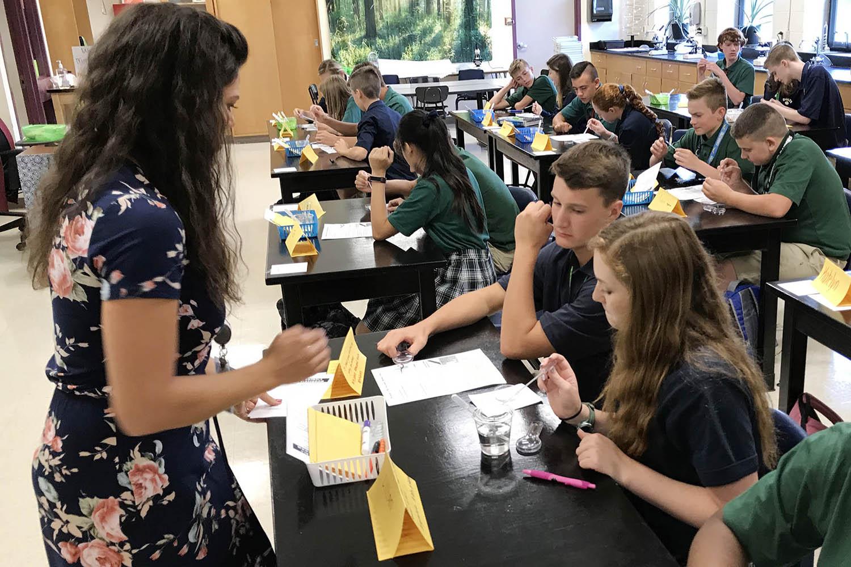 catholic schools week science with steenum