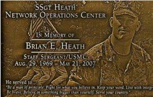 Brian Heath memorial